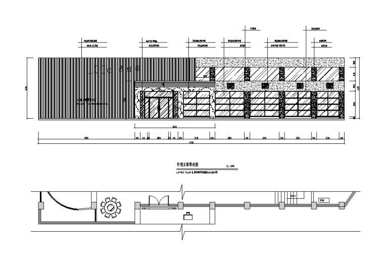 [南充]中式风酒楼设计施工图(含效果图)_2