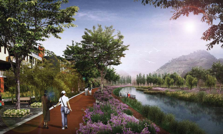 [云南]禄劝县掌鸠河湿地滨河公园景观方案设计文(包含PDF149页)