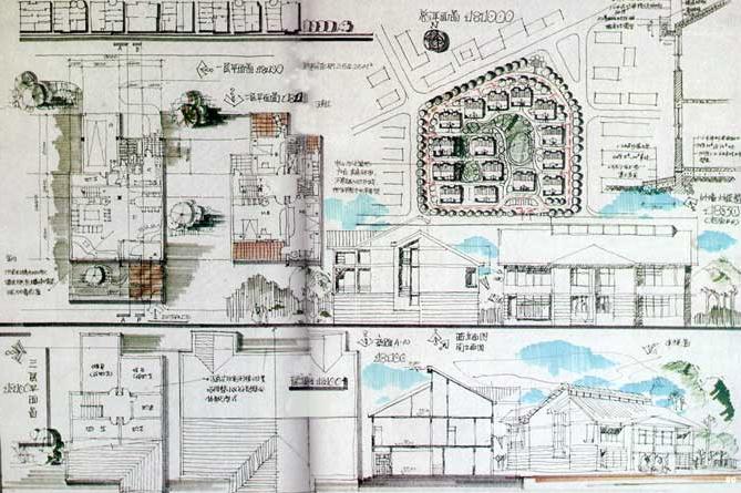 180张超经典建筑快题设计方案_1