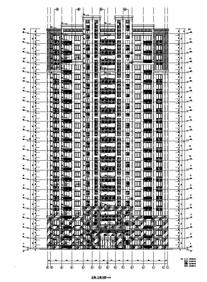 [安徽]华东院高层住宅及公建全专业施工图(含幼儿园商业)