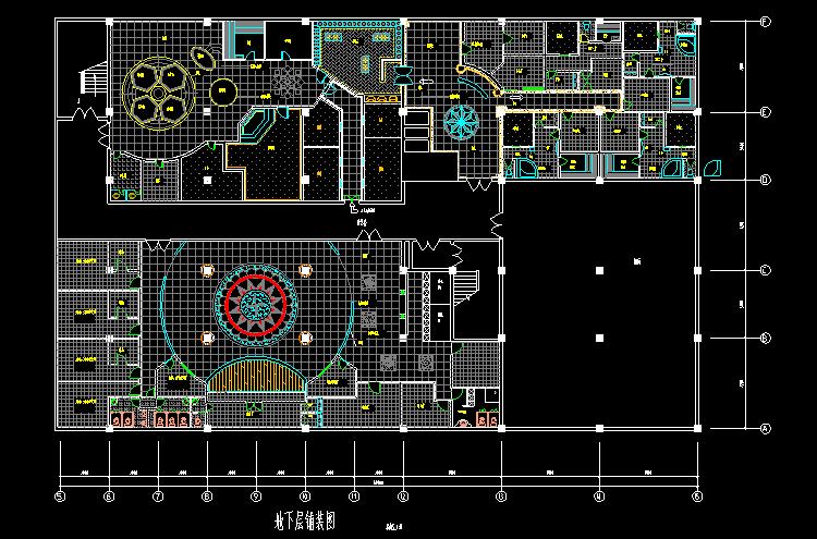 300多套CAD装修施工图纸(家装,工装,节点等)_6
