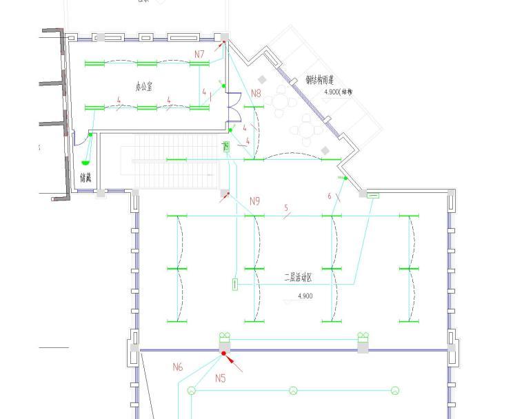 海湖新区电力住宅小区电气设计图纸大全(含住宅部分与商铺部分)_1