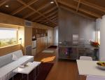 现代小客厅3D模型下载