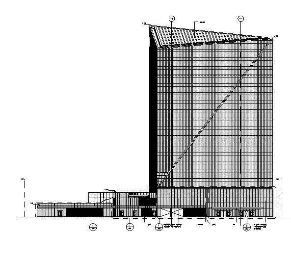 [上海]超高层综合性商业办公综合体施工图(两块含机电及人防)