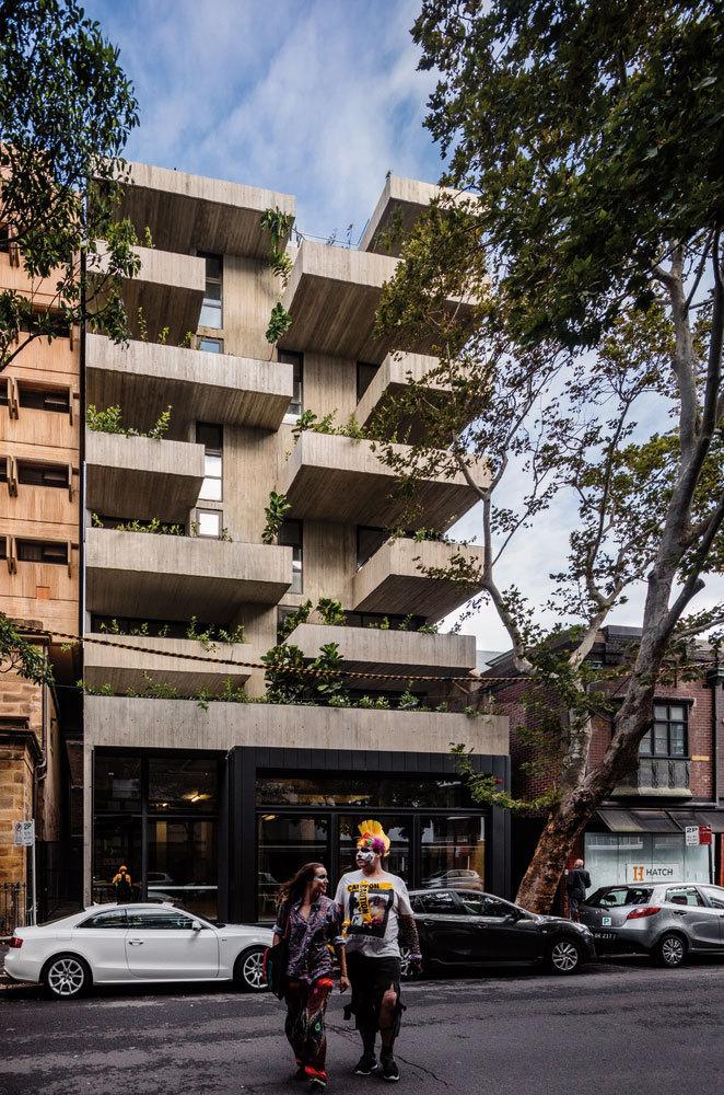 澳大利亚22套独特混合公寓外部实景图 (1)