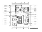 现代风格样板住宅设计CAD施工图(含效果图)