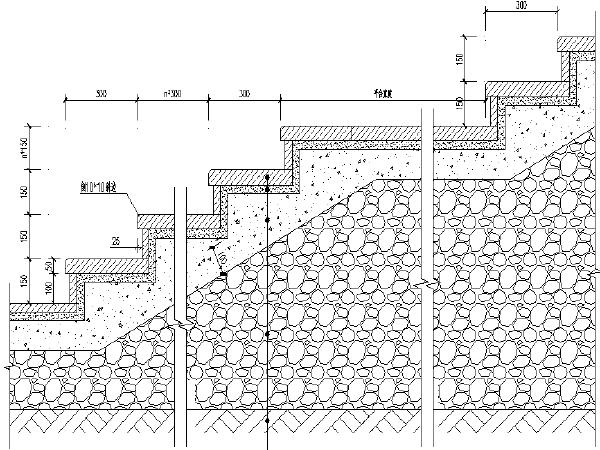 [重庆]文化创意产业园周边道路工程三横四纵路网施工图(上百张图纸)