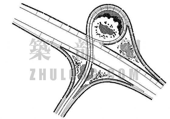高速公路绿化设计图纸