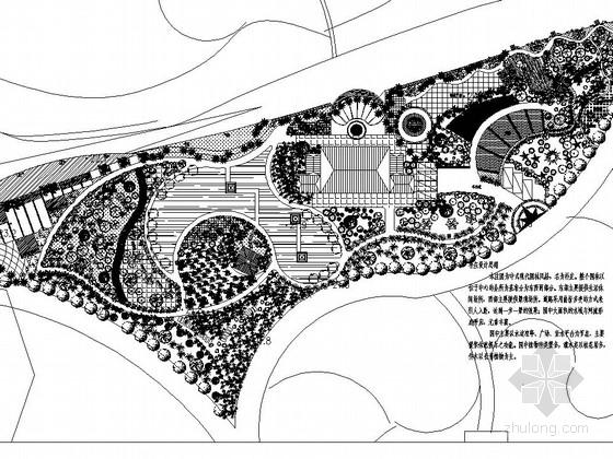 会所周边景观工程施工图