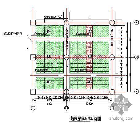 北京某火车站梁、顶板模板施工方案(18mm 覆膜多层板  碗扣架)