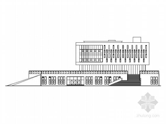 [安徽]某四层展览馆建筑施工图