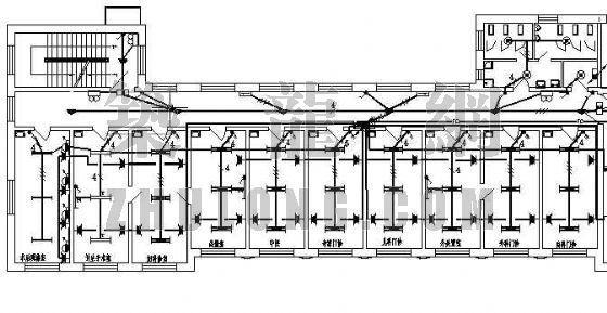 某小型医院综合楼电气施工图