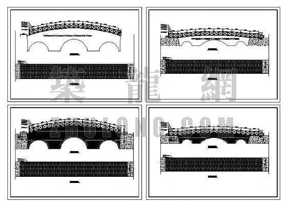 木桥平立面图纸-4