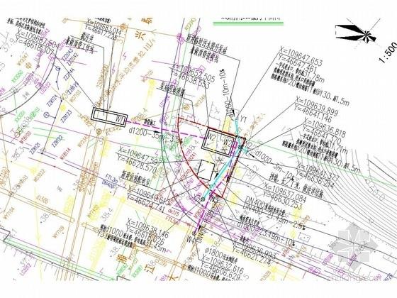 [湖南]道路高排口截污工程(排水工程 结构工程 电气工程 建筑工程)