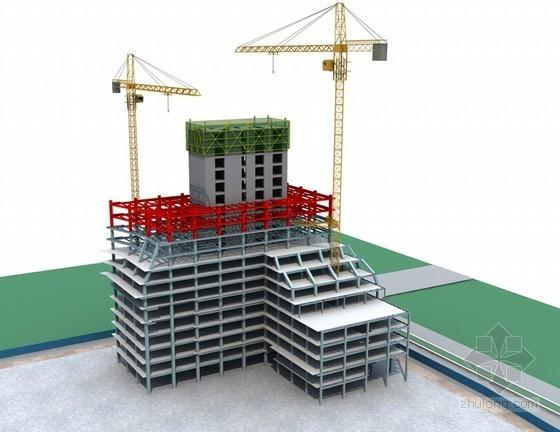 [浙江]超高层综合办公楼工程爬模安全专项方案(120页 附图)