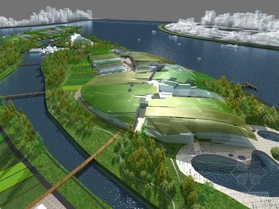 [四川]宗教文化湖岛景观规划设计方案(英国设计所)