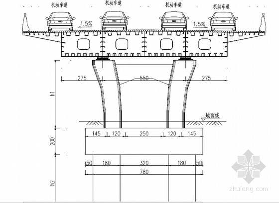 [辽宁]工业园区道路施工图91张(红线宽度20米)