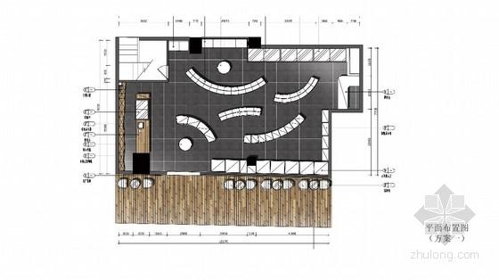[深圳]某合资商业超市室内设计概念方案图