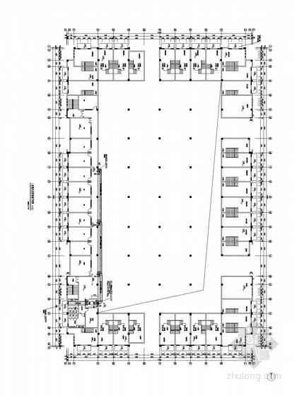 [江西]大型农贸市场暖通空调防排烟系统施工图设计(节能设计)