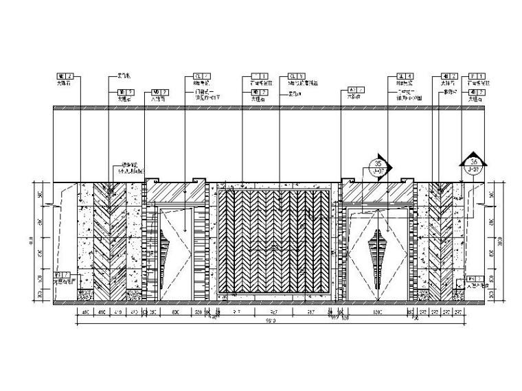 [北京]优雅唯美云南特色餐厅室内设计施工图(含效果图)_7
