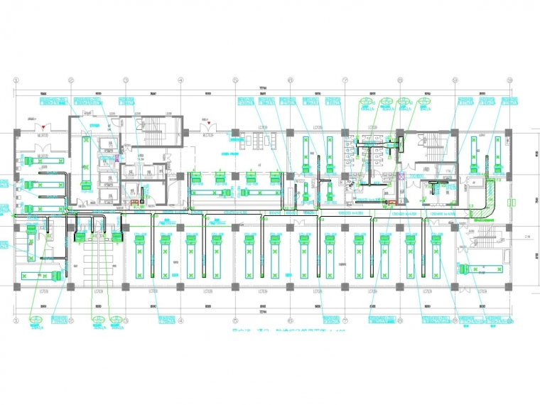 [安徽]高层人民医院空调通风及防排烟系统(机房设计,大院出品)