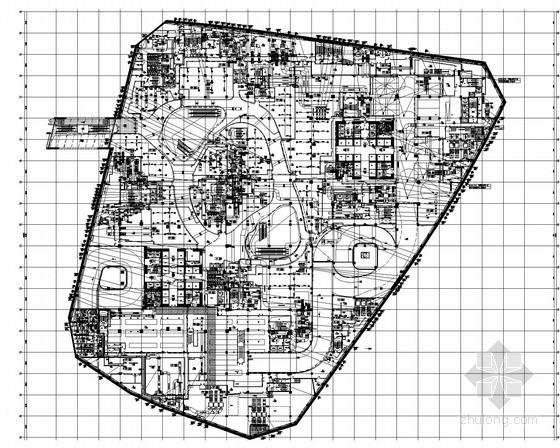[上海]超高层商业办公楼空调通风及防排烟系统设计施工图(大院设计)