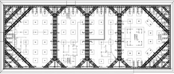 [浙江]拉锚桩及SMW工法桩加预应力型钢支撑深基坑支护施工图