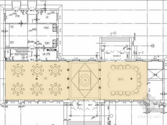 [河北]某三星级宾馆两套室内设计方案(中式和欧式)
