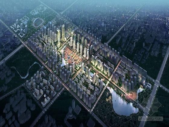 [重庆]高科技产业园商务区景观规划设计方案(著名设计)