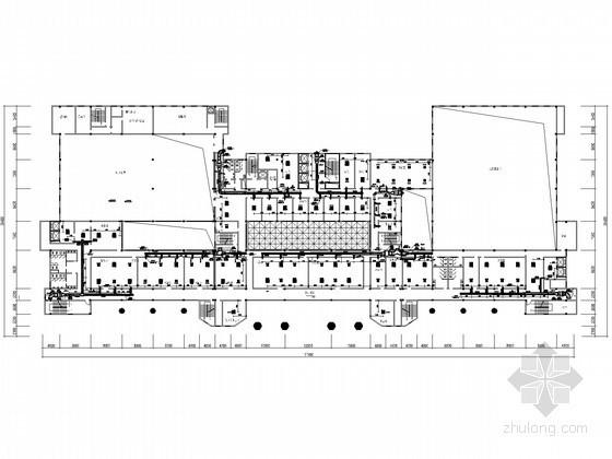[广西]某法院高层业务综合楼空调设计施工图(BRV系统)