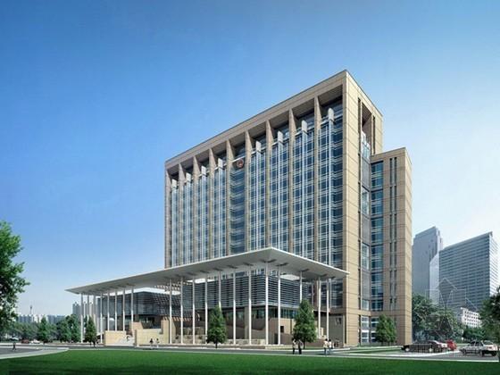 北京建安工程预算书资料下载-[北京]办公楼建筑安装工程预算书(全套报表)