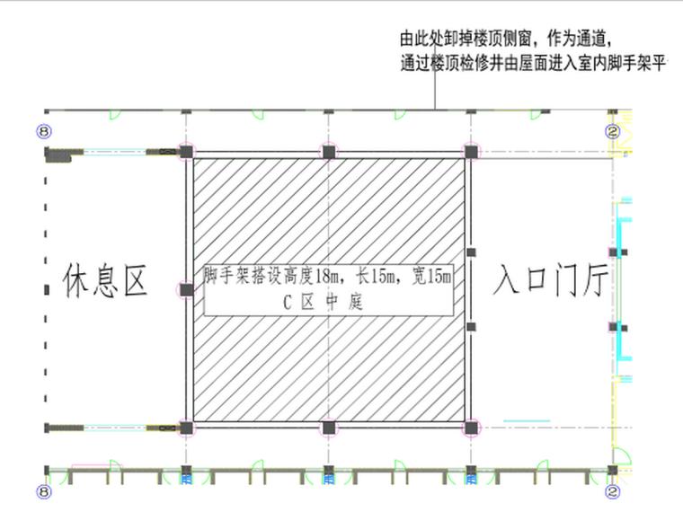 敦煌国际酒店项目1#C区满堂脚手架施工方案
