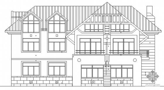 [青岛]某二层别墅建筑施工图