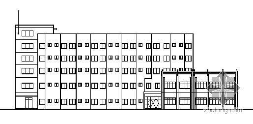 宁波某科技园区五层食堂综合楼建筑施工图