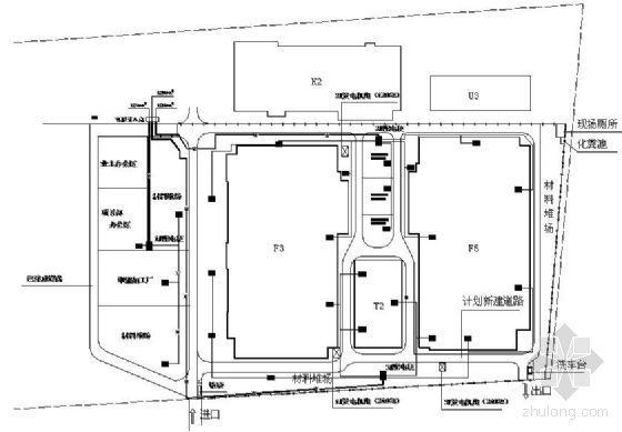 新建厂房临时用电施工方案