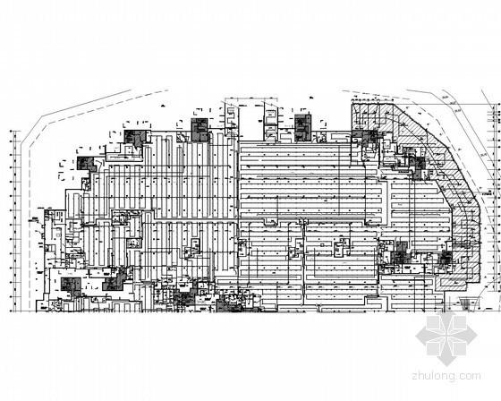 [广东]大型多栋商住楼全套电气施工图纸593张(含配套幼儿园)