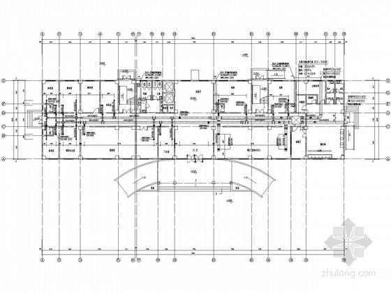 [河南]市政办公综合楼VRV空调系统设计施工图