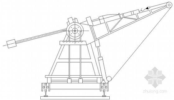 锚杆机械示意图