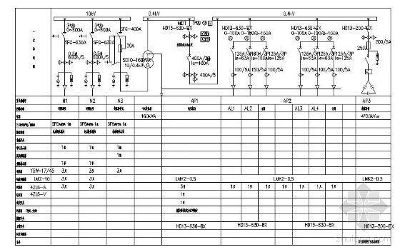 广场照明及控制系统图