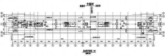 U型桥台锚杆加固资料下载-西安市轨道交通二号线一期工程某站总体设计图