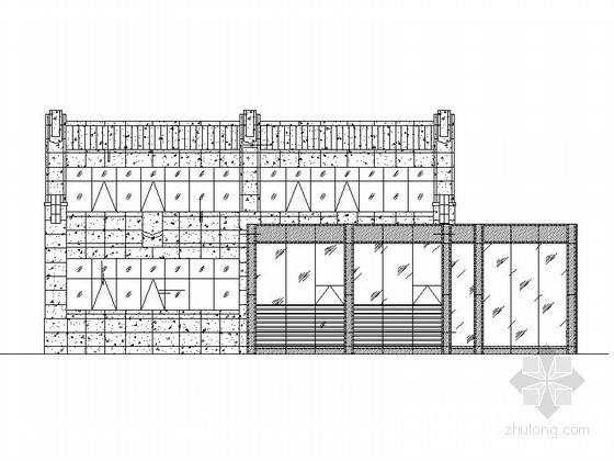 [南京]某售楼处幕墙工程建筑施工图(含计算书)