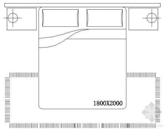 床平面CAD图块3