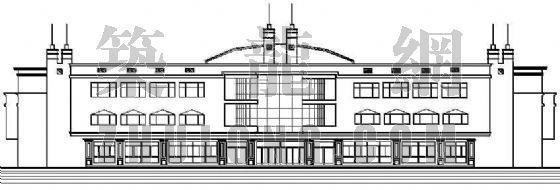某批发市场建筑设计方案