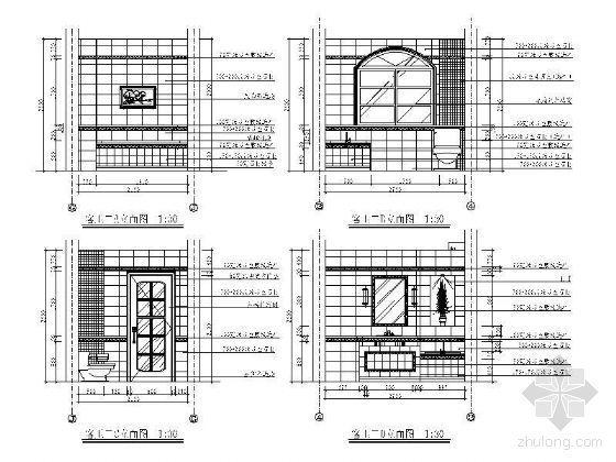 欧式客卫立面设计图