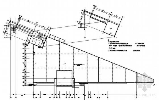 某中学二层食堂电气图纸-3
