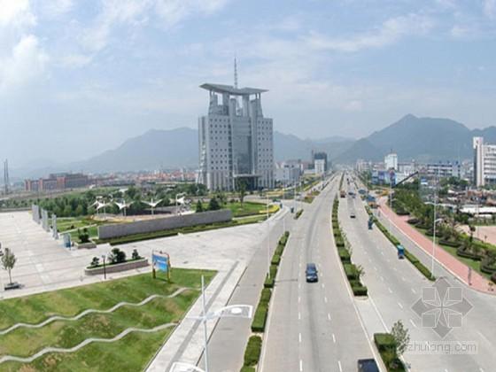 市政道路改造工程投标施工组织设计(白改黑 高危边坡)