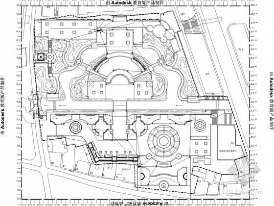某广场电气施工图纸