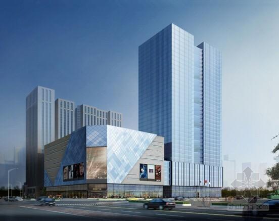 [上海]国际促进中心项目设计、供应及安装幕墙专业分包工程施工合同(清单 施工图)