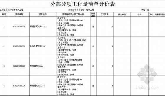 [重庆]2013年轻钢结构仓储物流项目各专业工程量清单及施工图(土建+电气+给排水+消防)