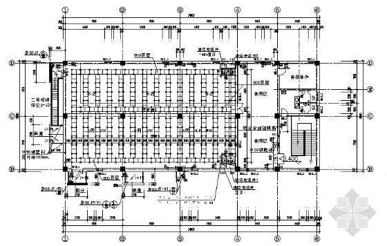 某通信楼建筑施工图-3